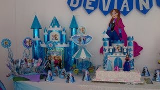 getlinkyoutube.com-Fiesta de frozen elsa y anna/ frozen party! Parte 2