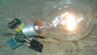 Free Energy Light 230v Bulb Trick 2016; Trick Free Energy