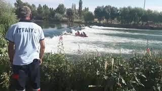 Nevşehir Avanos Kızılırmak'ta Mahsur Kalan Genç Kurtarıldı