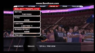 getlinkyoutube.com-WWE SVR 11 PSP Roman Reigns Entrance