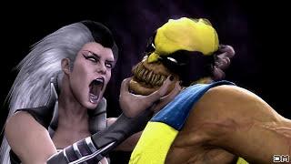 Mortal Kombat IX All Fatalities on Wolverine Costume Mod PC 4k UHD 2160p