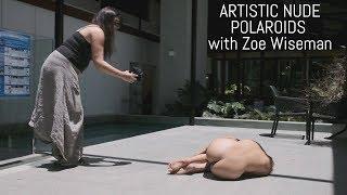 Shooting Art Nude Polaroids with Zoe Wiseman