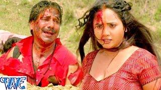 getlinkyoutube.com-Fight Scene of Rani ChatterJee || Gulami || Bhojpuri Film Main Rani Himmat Wali