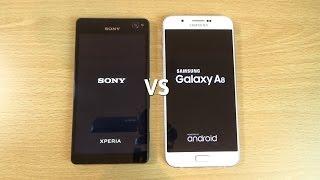 getlinkyoutube.com-Samsung Galaxy A8 VS Sony Xperia C4 - Speed & Camera Test!