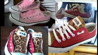 Renueva tus zapatillas! Pintandolas! (fotos)
