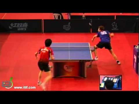 Quentin Robinot vs Kim Min Seok[U21 Spanish Open 2010]
