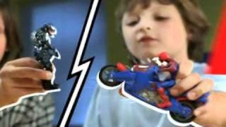 getlinkyoutube.com-HASBRO SPIDERMAN Figuras y vehículos en Toys R Us