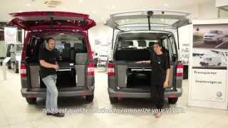 getlinkyoutube.com-Kit cama de Furgomania para VW Transporter T5