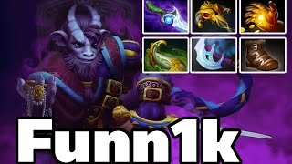 getlinkyoutube.com-Na`Vi Funn1k Pro Riki Carry Rank MMR Game - Dota2