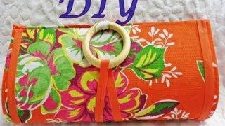 getlinkyoutube.com-Diy bolsa feita de papelão..