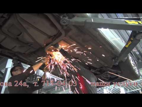 Замена катализатора на авто Ford Probe.Замена катализатора Ford Probe в СПБ