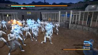 getlinkyoutube.com-Yakuza 5 Jo Amon Fight  龍が如く5 夢、叶えし者 - 亜門