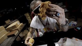 RiFF RaFF - Left With A Biscuit Came Back With A Chicken