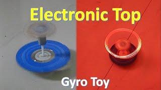 getlinkyoutube.com-How to make a simple electronic top - Gyro Stabilized