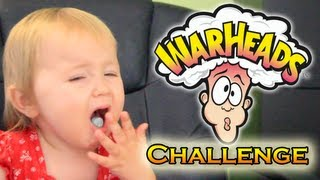 getlinkyoutube.com-😖 WARHEADS CHALLENGE: My Kids Eat Warheads For The First Time😂