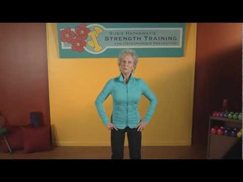 Osteoporosis Safety Precautions Clip: Susie Hathaway's Safe Strength Training