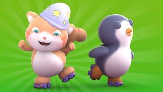 getlinkyoutube.com-Looi the Cat | 3D Animation for Kids | Penguin | Animal Toy Cartoons | Puzzle