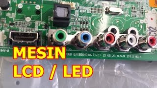 getlinkyoutube.com-Mengganti Mesin TV LCD / LED Universal