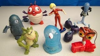 getlinkyoutube.com-MONSTERS VS ALIENS 2009 MCDONALDS HAPPY MEAL TOY COLLECTION VIDEO REVIEW