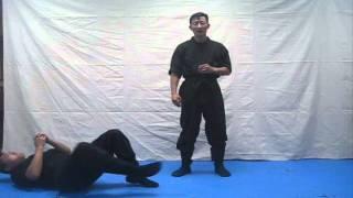 getlinkyoutube.com-Ninja night training methods series (Chosun Ninja) video #279