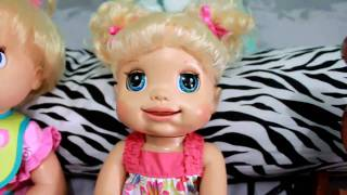 getlinkyoutube.com-Baby Alive How to play with My Real Baby♥ [HD]