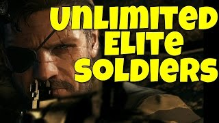 Metal Gear Solid 5: Unlimited Elite Soldiers! (MGSV Unlimited A++,S,S+,S++ Elite Soldiers)