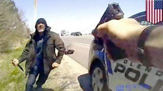 getlinkyoutube.com-ผู้ร้ายร้องขอให้ตำรวจยิง บันทึกในวิดีโอบอดี้แคมสุดระทึก