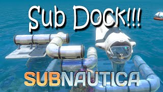 Subnautica Cyclops Docking Station Build and Sea Base! 1080p PC