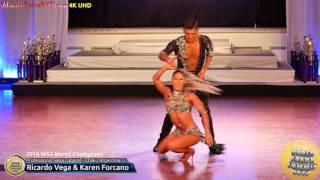 getlinkyoutube.com-WSS16 Professional Salsa Cabaret World Champions Ricardo Vega & Karen Forcano