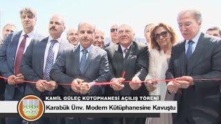 Kamil Güleç Kütüphanesi Açılış Töreni
