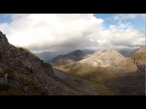 Beinn Eighe - Walking East along the ridge
