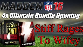getlinkyoutube.com-MUT 16 4x Ultimate Bundle Pack Opening | Stiff Rages To Wifey | Madden 16 Ultimate Team