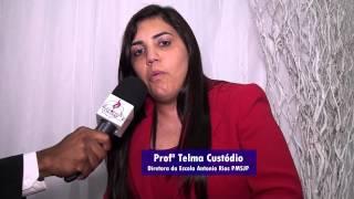 Profª Telma Custódio - Aniversário do Pr. Ival Teodoro da Silva