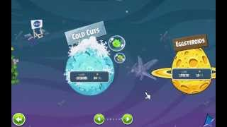 getlinkyoutube.com-Angry Birds Space: Cold cuts Final boss Battle & Ending Cutscene!