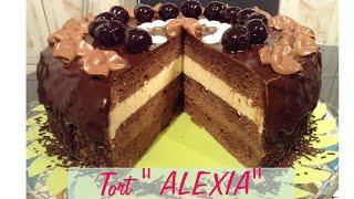 getlinkyoutube.com-Rețetă  tort de ciocolată  Alexia - CristineCuisine