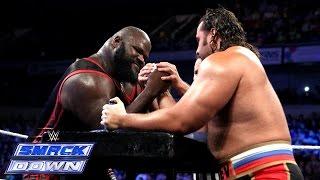 getlinkyoutube.com-Mark Henry vs. Rusev - International Arm Wrestling Contest: SmackDown, September 12, 2014