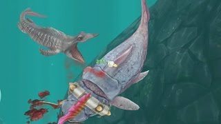 getlinkyoutube.com-Hungry Shark Evolution: BIG DADDY (DUNKLEOSTEUS)  #10