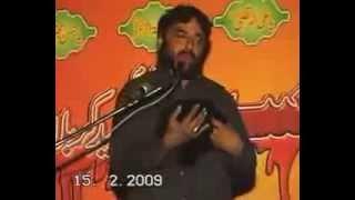 getlinkyoutube.com-Zakireen: Najam Shah and Waseem Baloch Shahadat Bibi Sakina sa Dohm Syedan Chiniot