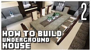 getlinkyoutube.com-How to Build an Underground House in Minecraft - Part 2