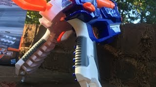getlinkyoutube.com-Honest Review: The Nerf Elite XD Split Strike 2in1 (Full Unboxing and Demo)