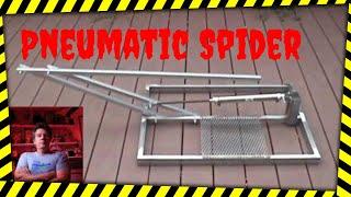 getlinkyoutube.com-DIY Pneumatic Halloween Prop, the Spider Leaper