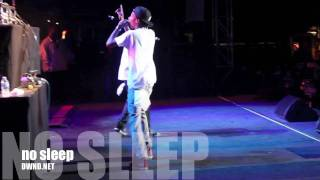 Wiz Khalifa - Racks on Racks Freestyle + Never Sleep (Live)