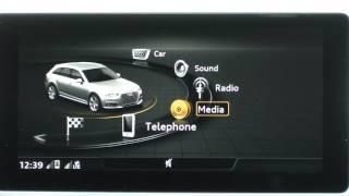 Audi A4 Avant 2016 - MMI & Virtual Cockpit