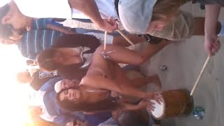 getlinkyoutube.com-Your titties are out at the drum circle