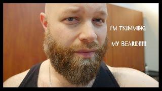 getlinkyoutube.com-Trimming My Beard - Head Shave & Beard Trim - TheSalonGuy