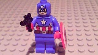 getlinkyoutube.com-Lego Captain America Vs Hydra