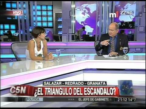 C5N - CHICHE EN VIVO: EL TRIANGULO SALAZAR, REDRADO Y GRANATA