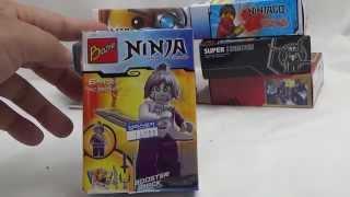 getlinkyoutube.com-bozhi 레고 닌자고 픽셀 PIXAL 외계 조수 중국 짝퉁 피규어 장난감 조립기