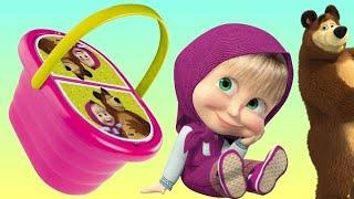 Masha and the Bear PICNIC Basket Play-doh Toy Set