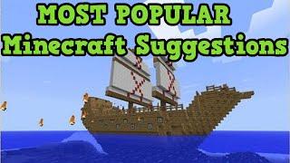 getlinkyoutube.com-Minecraft - MOST POPULAR IDEAS EVER (Top 10)
